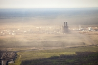 tar-sand;tar-sands;oil-sand;oil-sands;oil-industry;fossil-fuel;climate-change;global-warming;industry;heavy-industry;industrial;Athabasca;Alberta;Canada;destruction;pollution;contamination;contaminated;strip-mining;Fort-McMurray;sky;environment;environmental-destruction;carbon-footprint;statement;affected;Boreal-Forest;toxic;oil;bitumen;deposits;oil-reserves;emissions;carbon-footprint;energy;aerial;aerial-photograph;Syncrude;smog;pollution;air-pollution;emissions