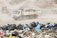 Alicante;Costa-Blanca;Murcia;Spain;landfill;rubbish;trash;garbage;tip;rubbish-tip;dump;garbage-dump;environment;green;climate-change;global-warming;greenhouse-gas;methane;bio-methane;plastic;capture;capturing;tapping;tapping-off;renewable-energy;energy;power;plastic-bag;dirty;pollution;waste;wasteful;packaging;landfill-site;waste-disposal;lorry;truck;haulage;dust;dusty