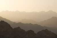 Egypt;Sinai;desert;sinai-desert;Dahab;Red-Sea;arabic;arab;heat;hot;dry;drought;mountain;hill;rock;rocky;geology;climate-change;global-warming;dusty;climate-shift;desertification;ridge;erosion;eroded;dusk;evening;sunset