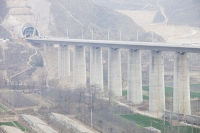 China;construction;buildoing;railway;supports;concrete;carbon-footprint;transport;public-transport;transportation;modernisation;progress;Shianxi;Loess;tunnel