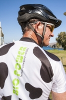 20120923_IMG_2517.jpg A cyclist wearing a bio power human powered cycling top.