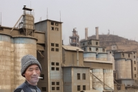 China;chinese;energy;power;electricity;power;power-station;coal;coal-fired;coal-fired-power-station;fossil-fuel;dirty;pollution;polluting;greenhouse-gas;emmissions;C02;carbon-dioxide;carbon-foorprint;global-warming;climate-change;power-plant;chimney;smoke-stack;electricity-genertation;power-consumption;industry;industrial;air-quality;air-pollution;smoke;sky;smog;environment;fuel;cement;cement-factory;Tongshuan;Shanxi;man;chinese;smoking;cigarette;cancer;unhealthy;face;smile;happy;habit;addict;addicted;nicotine