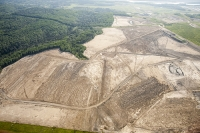 tar-sand;tar-sands;oil-sand;oil-sands;oil-industry;fossil-fuel;climate-change;global-warming;industry;heavy-industry;industrial;Athabasca;Alberta;Canada;destruction;pollution;contamination;contaminated;strip-mining;Fort-McMurray;sky;environment;environmental-destruction;carbon-footprint;statement;affected;Boreal-Forest;toxic;oil;bitumen;deposits;oil-reserves;emissions;carbon-footprint;energy;aerial;aerial-photograph;soil;overburden