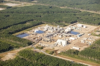 tar-sand;tar-sands;oil-sand;oil-sands;oil-industry;fossil-fuel;climate-change;global-warming;industry;heavy-industry;industrial;Athabasca;Alberta;Canada;destruction;pollution;contamination;contaminated;Fort-McMurray;sky;environment;environmental-destruction;carbon-footprint;statement;affected;Boreal-Forest;toxic;oil;bitumen;deposits;oil-reserves;emissions;carbon-footprint;energy;aerial;aerial-photograph;SAG-D;steam-assisted-gravity-drainage