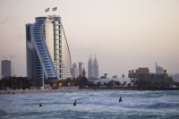 Dubai;Middle-East;arabic;high-rise;tower-block;development;luxury;wealthy;expensive;architecture;design;Emirates;sea;beach;Persian-Gulf;surf;UAE