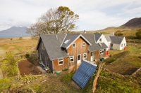 Eigg;island;Scotland;UK;Eigg-Heritage-Trust;community;energy;power;electric;electricity;renewable;renewable-energy;renewable-power;wind-power;solar-power;hydro;hydro-power;clean;green;zero-emissions;climate-change;global-warming;carbon-footprint;feed-in-tariff;future;Eigg-electric;self-sufficient;self-sufficiency;lifestyle;environment;eco;house;household;solar-thermal;solar-panel;solar-power;hot-water;water-heater;evacuated-tubes