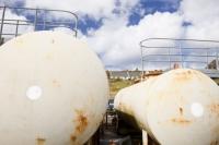 Eigg;island;Scotland;UK;Eigg-Heritage-Trust;community;energy;power;climate-change;global-warming;carbon-footprint;oil;tank;storage;tanker;supply;reserves