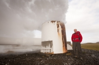 Iceland;power-station;power;electricity;energy;geothermal;geothermal-energy;geothermal-electricity;steam;steaming;heat;hot;bore-hole;tapping;borehole;pipe;piping;temperature;geothermal-power;vulcanicty;climate-change;global-warming;carbon-footprint;carbon-neutral;geology;plate-tectonics;tectonic;Hellisheidi-power-station;lava;lava-field;lava-flow;magma;rock;Hellisheidi;Hengill;energy;electricity;green;eco;environment;renewable-energy;clean-energy;green-energy;green-electricity;chimney;man