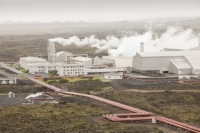 Iceland;Reykjavik;Keflavik;power-station;power;electricity;energy;geothermal;geothermal-energy;geothermal-electricity;steam;steaming;heat;hot;bore-hole;tapping;borehole;pipe;piping;temperature;geothermal-power;vulcanicty;Svartsengi;climate-change;global-warming;carbon-footprint;carbon-neutral;geology;plate-tectonics;tectonic;Svartsengi-power-station;lava;lava-field;lava-flow;magma;rock