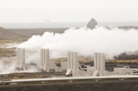 Iceland;Reykjanes-power-station;power;electricity;energy;geothermal;geothermal-energy;geothermal-electricity;steam;steaming;heat;hot;bore-hole;tapping;borehole;pipe;piping;temperature;geothermal-power;vulcanicty;Svartsengi;climate-change;global-warming;carbon-footprint;carbon-neutral;geology;plate-tectonics;tectonic;Reykjanes-power-station;lava;lava-field;lava-flow;magma;rock