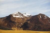 South-America;Bolivia;La-Paz;slope;hilly;Andes;mountain;altitude;high;El-Alto;snow;glacier;Altiplano;mountain-range;Cordillera-Real;Chacaltaya;glacial-retreat;climate-change;global-warming;grass;grassland;rock;geology;glacier;disappeared