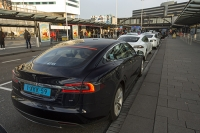 Schiphol;airport;Amsterdam;Amsterdam-Airport;Holland;Netherlands;car;taxi;Tesla;electric;electric-car;electric-vehicle;clean;green;zero-emissions;climate-change;global-warming;green-transport