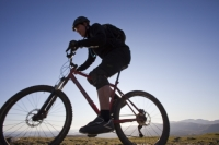 IMG_4825_biker.jpg Mountain bikers on the Helvellyn Range in the Lake District, UK.