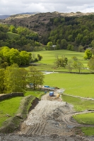 Rydal;Hydro-electric;scheme;Ambleside;Lake-District;UK;HEP;renewable-energy;green;National-Park;hill;climate-change;construction;global-warming;carbon-neutral;investment;Scandale;ground-works;road;track;damage;visual-intrusion;Fairfield;pipe;piping