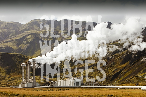 Hellisheidi geothermal power station in Hengill, Iceland is the worlds second largest geothermal power station. It will soon have a capacity of 300 MW of electricity generation. It also supplies hot water via a pipeline to Reykjavik for space heating for households and industry.
