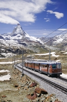 Railway-Gornergrat-Alps-Zermatt-Matterhorn-Switzerland-Mountain-