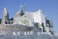 China;winter;cold;freezing;ice;ice-palace;ice-sculpture;building;architecture;Harbin;Heilongjiang;art;ephemeral