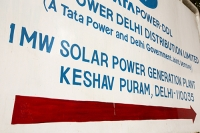 Delhi;India;Asia;investment;investing;growth;Tiger-economy;infrastructure;climate-change;global-warming;energy;power;electricity;Solar;Solar-power;solar-energy;solar-panel;PV;photo-voltaic;generation;generating;green;clean;carbon-footprint;carbon-neutral;1MW;mega-watt;Tata;Tata-Power