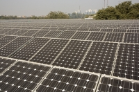 Delhi;India;Asia;investment;investing;growth;Tiger-economy;infrastructure;climate-change;global-warming;energy;power;electricity;Solar;Solar-power;solar-energy;solar-panel;PV;photo-voltaic;generation;generating;green;clean;carbon-footprint;carbon-neutral;1MW;mega-watt;Tata;Tata-Power;renewable;renewable-energy;renewable-power;roof-top