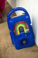 Malawi;Africa;radio;wind-up-radio;off-grid;blue;entertainment;electric-supply