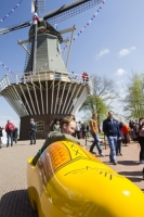 Keukenhof;Lisse;Holland;Netherlands;Spring;flower;flowers;tulip;horticulture;production;agriculture;floral;colour;colourful;red;yellow;season;famous;garden;world-famous;Spring-garden;tourism;tourist-attraction;visitor;Dutch;icon;iconic;clog;clogs;windmill;wind-power;sail;renewable;renewable-energy