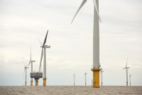 Gunfleet-Sands;Gunfleet-Sands-offshore-wind-farm;offshore-wind-farm;wind-farm;Essex;UK;Brightlingsea;renewable;renewable-energy;green;clean;carbon-neutral;energy;electricity;wind-turbine;climate-change;global-warming;Dong-Energy;energy-sector;sea;North-Sea;sub-station