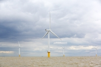 Gunfleet-Sands;Gunfleet-Sands-offshore-wind-farm;offshore-wind-farm;wind-farm;Essex;UK;Brightlingsea;renewable;renewable-energy;green;clean;carbon-neutral;energy;electricity;wind-turbine;climate-change;global-warming;Dong-Energy;energy-sector;sea;North-Sea