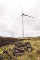 Lewis;Isle-of-Lewis;Outer-Hebrides;Hebrides;Scotland;UK;remote;peat;peat-bog;peat-cutting;fuel;energy;power;fossil-fuel;contrast;renewable;renewable-energy;wind;wind-turbine;wind-power;wind-farm;blade;electricity;Stornoway