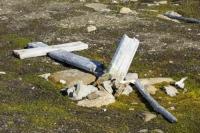 Recherchefjorden-77°31'n-14°36'e-Van-Keulenfjorden-Spitsbe;Svalbard-remains-artefact-history-protected-preserved-human-hist;Arctic-Artic-circle-Arctic-Ocean-landscape-protected-monument-co