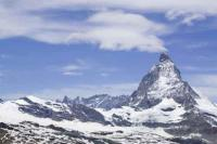 Switzerland;Zermatt;Gornergletscher;Alps;Alpine;mountain;mountainous;snow;ice;glacier;glacial;glacial-retreat;recede;receeding;melt;melting;warming;global-warming;rock;bare-rock;exposed;temperature;melting-glacier;moraine;retreat;retreating;ablation;crevasse;Matterhorn;rockfall;permafrost;permafrost-melt