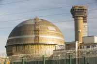 20130228_B18A0365.jpg The capped off nuclear reactor following a disastrous fire in October 1957 at Sellafield nuclear power station near Seascale in West Cumbria, UK.