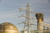 20130228_B18A2924.jpg The capped off nuclear reactor following a disastrous fire in October 1957 at Sellafield nuclear power station near Seascale in West Cumbria, UK.