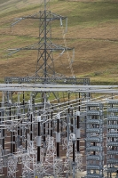 Scotland;Southern-Uplands;electricity;sub-station;substation;transmission-pylon;energy;power;renewable-energy;green;clean;carbon-footprint;electric;Elvanfoot;elvanfoot-substation;wind-turbine