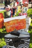 flood;flooding;floods;London;UK;Greenpeace;charity;NGO;protest;art;instalation;pop-up-art;protest;protesting;activist;envirnoment;art;wellies;wellington-boots;rubber-boots;message;communication;flood-victim;volunteer;Westminster;stunt;PR;stripes;zebra