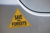 Australia;car-sticker;bumper-sticker;forest;save;green;environment