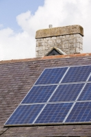 roof;slate;renewable-energy;green;environment;climate-change;global-warming;solar;solar-energy;solar-voltaic;electricity;carbon-footprint;clean-energy;green-energy;self-sufficient;investment;solar-power;solar-PV;photo-voltaic;carbon-neutral;Cumbria;UK;South-Cumbria;solar-panel;Arnside;Educational-Institute;community