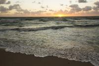 America;USA;Florida;Miami;beach;coast;ocean;sea;Atlantic;Atlantic-Ocean;Miami-Beach;dawn;morning;wave;shore;sunrise