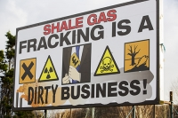 fracking;shale-gas;Blackpool;Lancashire;UK;protest;fossil-fuel;climate-change;global-warming;banner;placard;concern;environment;environmentalist;yellow;colourful;gas;energy;energy-policy;planning;planning-application;planning-appeal;Cuadrilla;David-and-Goliath;battle;localism;democracy;green;dirty;business