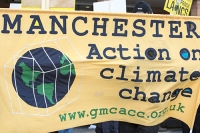 fracking;shale-gas;Blackpool;Lancashire;UK;protest;fossil-fuel;climate-change;global-warming;banner;placard;concern;environment;environmentalist;yellow;colourful;gas;energy;energy-policy;planning;planning-application;planning-appeal;Cuadrilla;David-and-Goliath;battle;localism;democracy;person;man;woman;concerned;green;Manchester