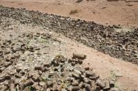 Egypt;Sinai;desert;sinai-desert;Dahab;Red-Sea;resort;coast;arabic;arab;heat;hot;dry;drought;mountain;hill;rock;rocky;geology;climate-change;global-warming;dusty;climate-shift;desertification;ridge;erosion;eroded;sand;sandy;tin;tin-can;can;rust;rusty;rusting;rubbish;trash;garbage;litter;rubbish-dump;tip;pollution;polluted