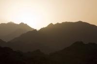 Egypt;Sinai;desert;sinai-desert;Dahab;Red-Sea;arabic;arab;heat;hot;dry;drought;mountain;hill;rock;rocky;geology;climate-change;global-warming;dusty;climate-shift;desertification;ridge;erosion;eroded;dusk;evening;sunset