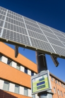20130202_B18A8873.jpg Tracking solar voltaic panels outside the University of Central Lancashire, Preston, UK.