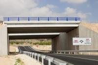 Andalucia;Spain;transport;travel;infrastructure;road;road-building;investment;European;funding;EU;development;bridge-road-sign;parapet;crash-barrier;modern