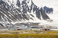 Spitsbergen;Svalbard-Arctic-Artic-Circle-Arctic-Ocean-North-beach-coast-tour