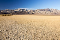 California;USA;America;Death-Valley;desert;drought;hot;dry;low;heat;National-Park;preserved;protected;mud-cracks;lake-bed;dessicated;barren;mountain;mountain-range;geology;rocks