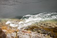 Kyle-Rhea-Scotland;UK;Skye;Isle-of-Skye;island;Hebrides;Inner-Hebrides;Atlantic;coast;loch;sea-loch;shore;boulder;beach;landscape;Glenelg;tide;tidal;tide-race;tidal-race;tide-rip;tide-power;tidal-power;speed;movement;intertidal;renewable-energy