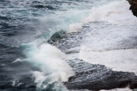 Orkney;Scotland;UK;coast;sea;power;energy;renewable;renewable-energy;wave-power;wave-energy;wave-energy-device;crashing;breaking