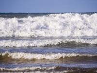 Cornwall;South-West;coast;Polzeath;beach;sand;sea;Atlantic;ocean;Atlantic-ocean;wave;swell;breakers;breaking;surf;white-water;rollers