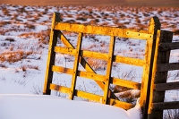 mountain;hill;weather;winter;cold;snow;Hartside;vista;view;fence;Pennines;North-Pennines;Hartside;dusk;sunset;cloud;contrast;snowpack;sunset;glow;warm;light;moorland;sedge;landscape;peat;gate;wooden;golden-gate;fence;entrance;passage