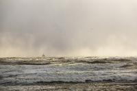 storm;stormy-weather;wind;windy;storm-Gertrude;extreme-weather;Walney;walney-Island;Cumbria;UK;beach;coast;Irish-sea;sea;waves;wave;foam;spume;climate-change;global-warming;west-coast;crashing;sky;dark;black;threatening